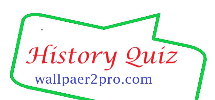 History quiz-30