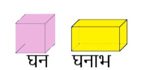 घन व घनाभ cube and cuboid
