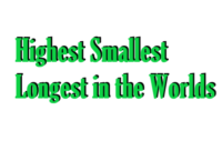 Highest Smallest Longest in the Worlds